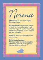 Nombre Norma
