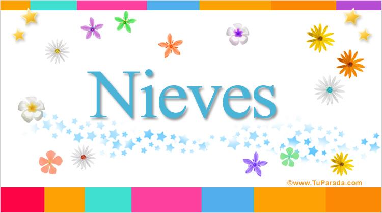 Nieves, imagen de Nieves