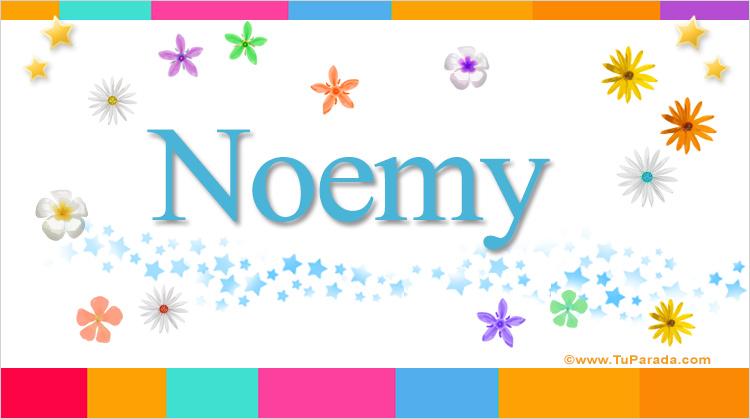 Noemy, imagen de Noemy