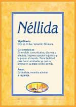 Nombre Néllida