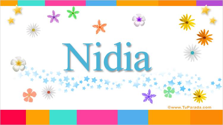 Nidia, imagen de Nidia