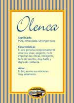 Nombre Olenca