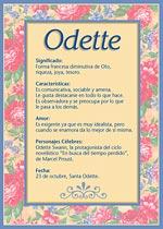Origen y significado de Odette
