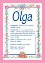 Origen y significado de Olga