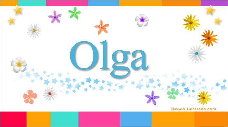 Olga, imagen de Olga