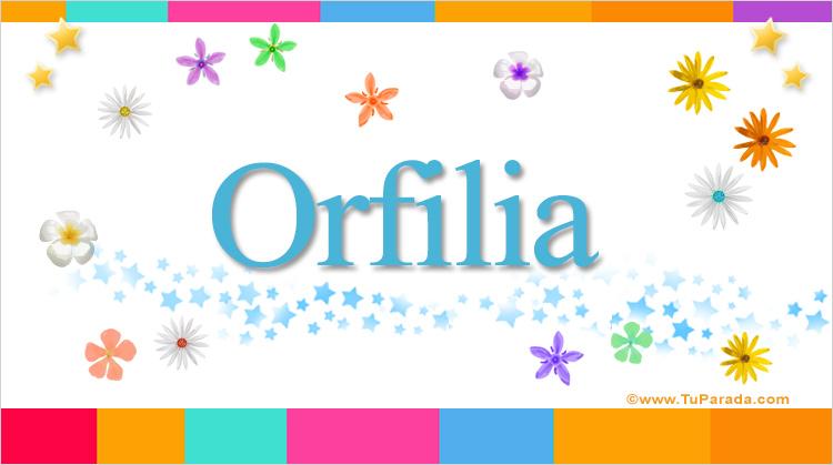 Orfilia, imagen de Orfilia