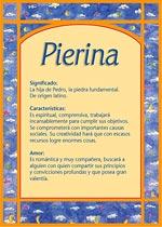 Nombre Pierina