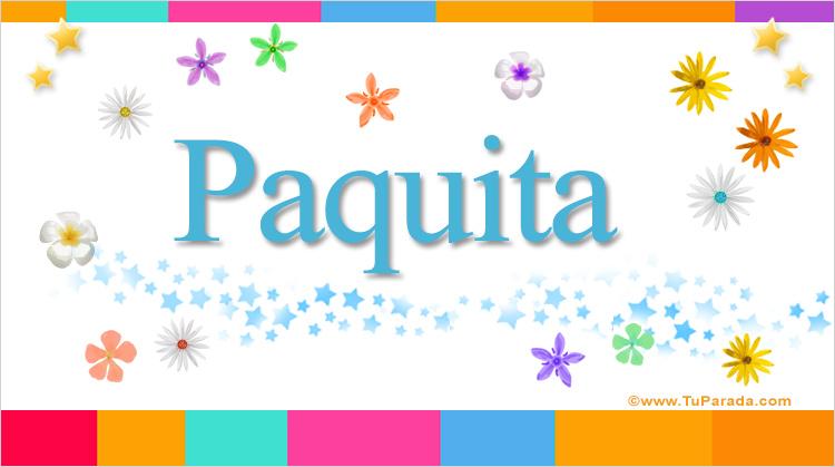 Paquita, imagen de Paquita