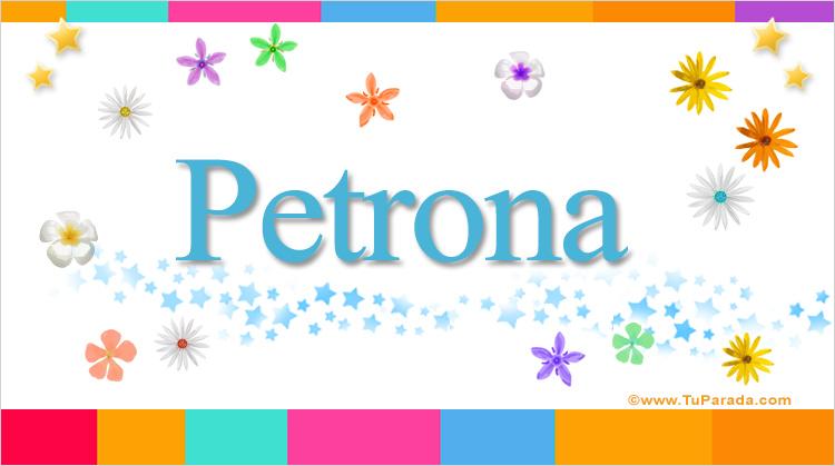 Petrona, imagen de Petrona