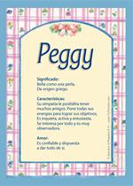 Origen y significado de Peggy