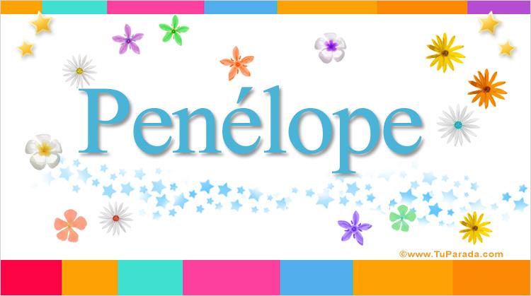 Penélope, imagen de Penélope