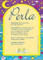 Nombre Perla