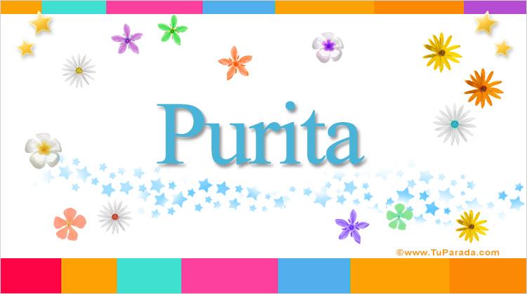 Purita, imagen de Purita