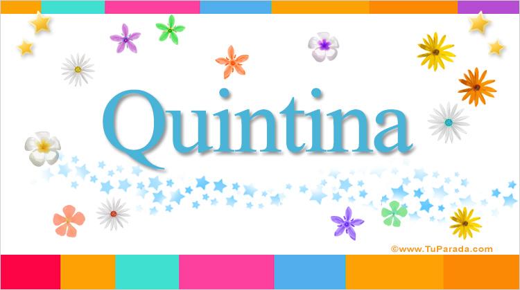 Quintina, imagen de Quintina