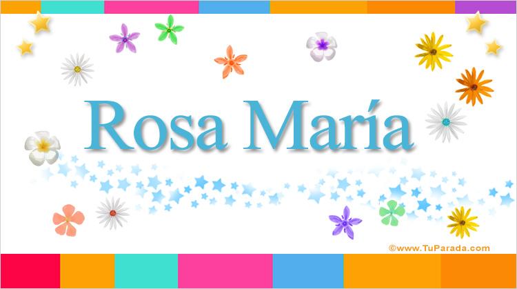 Rosa María, imagen de Rosa María