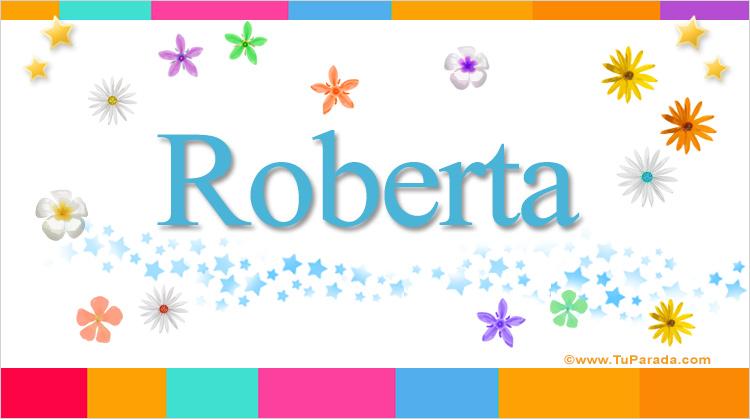 Roberta, imagen de Roberta