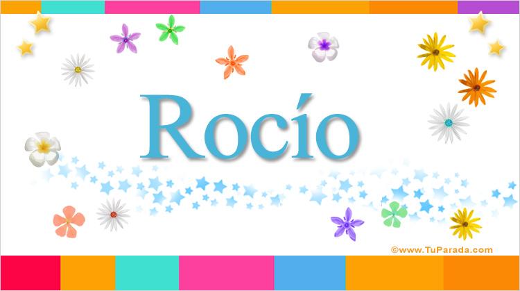 Rocío, imagen de Rocío