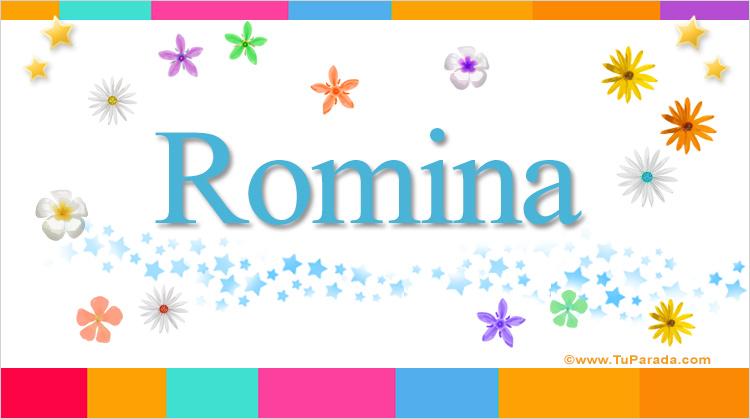 Romina, imagen de Romina