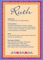 Nombre Ruth