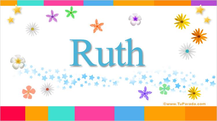 Ruth, imagen de Ruth
