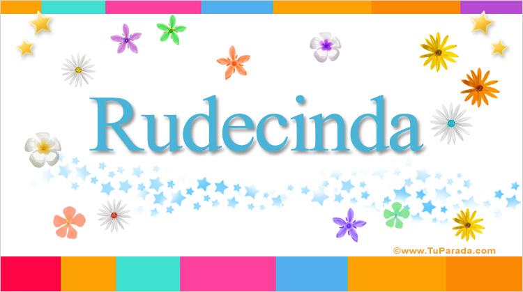 Rudecinda, imagen de Rudecinda