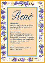 Nombre René