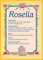 Nombre Roselia