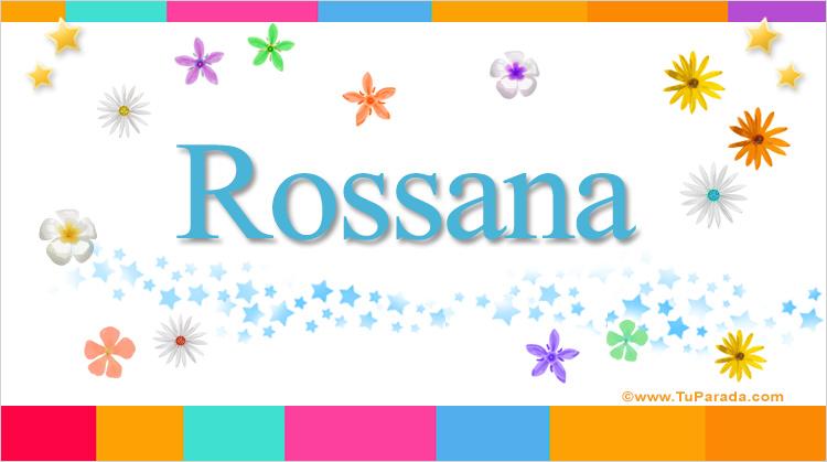 Rossana, imagen de Rossana