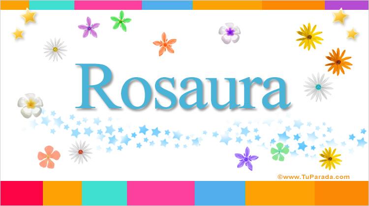 Rosaura, imagen de Rosaura