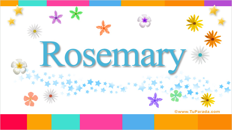 Rosemary, imagen de Rosemary