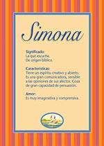 Origen y significado de Simona