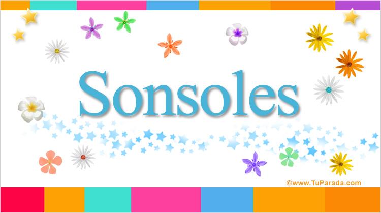 Sonsoles, imagen de Sonsoles
