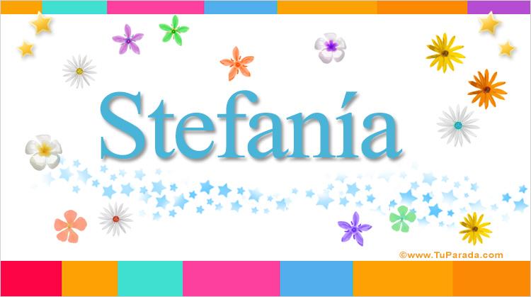 Stefanía, imagen de Stefanía