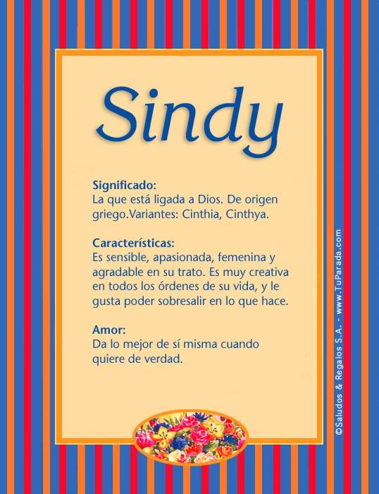 Sindy, imagen de Sindy