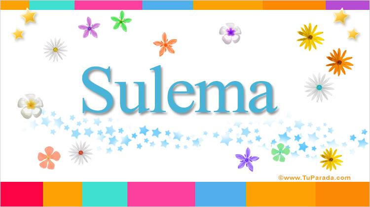 Sulema, imagen de Sulema