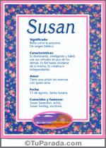 Nombre Susan