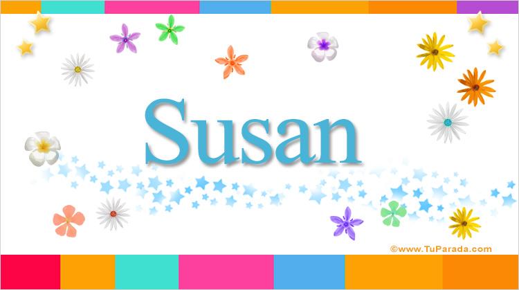 Susan, imagen de Susan
