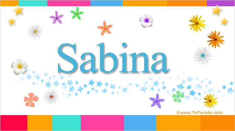 Sabina, imagen de Sabina