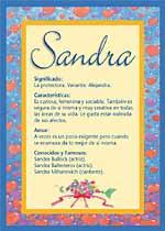 Origen y significado de Sandra