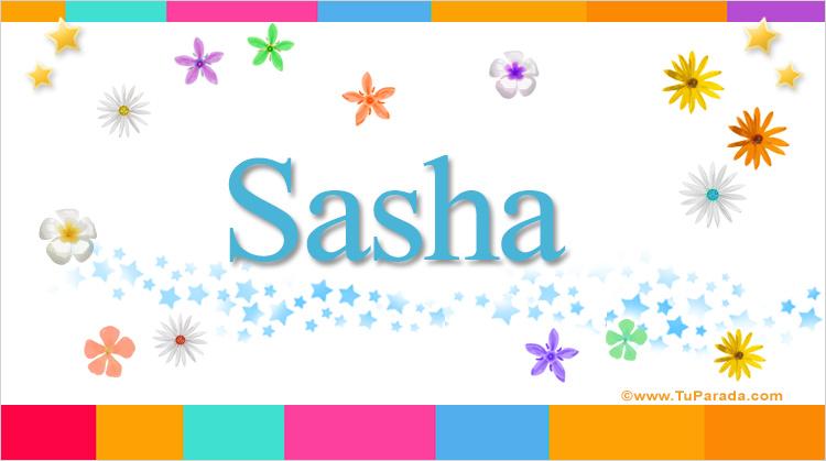 Sasha, imagen de Sasha