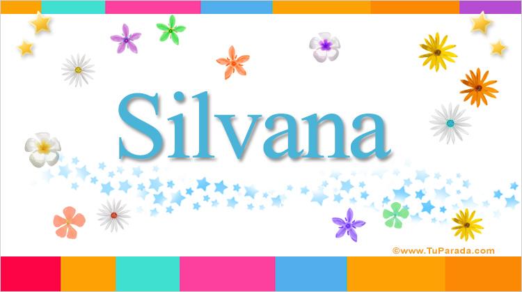 Silvana, imagen de Silvana