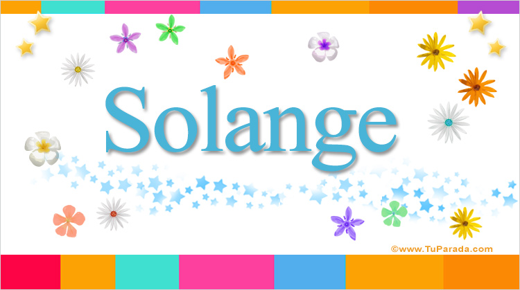 Solange, imagen de Solange