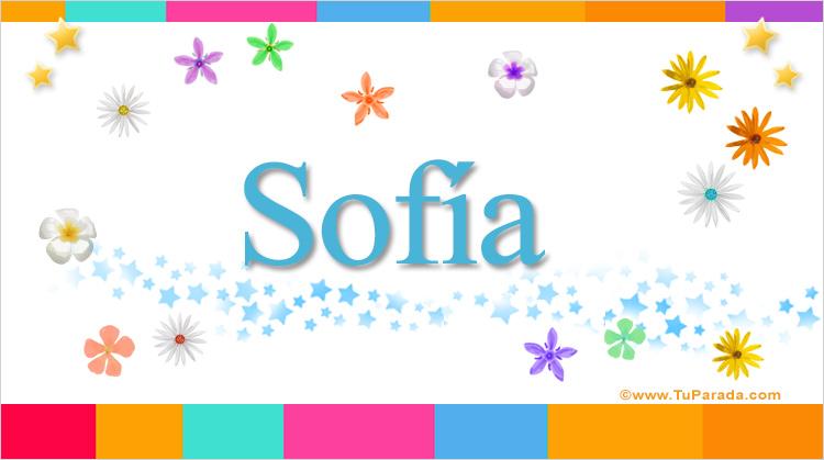 Sofía, imagen de Sofía