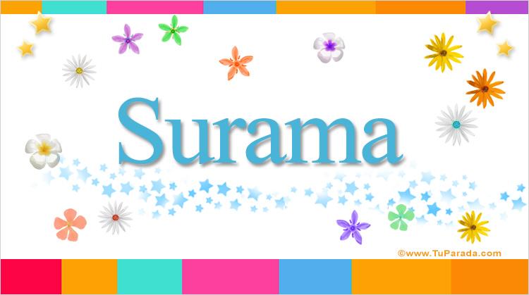 Surama, imagen de Surama