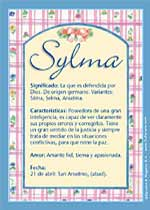 Nombre Sylma