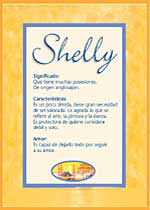 Nombre Shelly