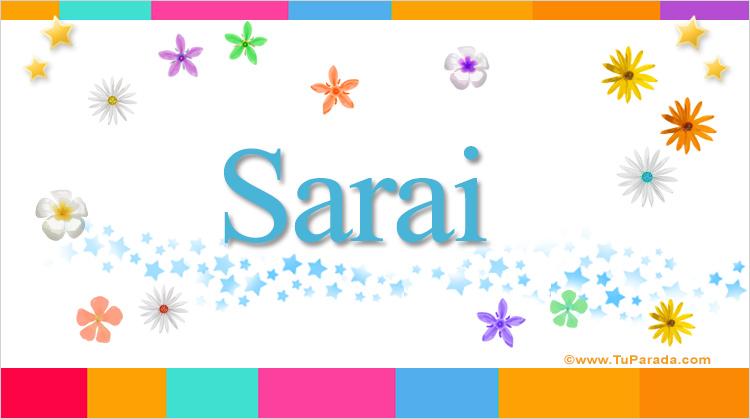 Sarai, imagen de Sarai