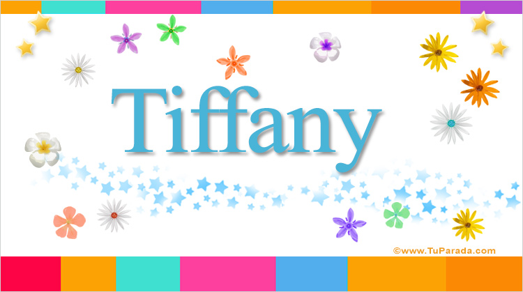 Tiffany, imagen de Tiffany