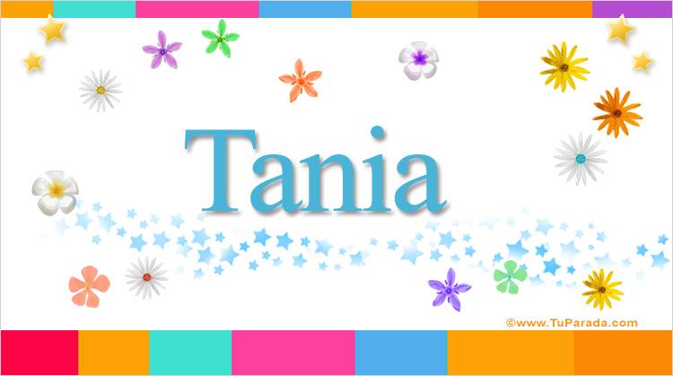 Tania, imagen de Tania