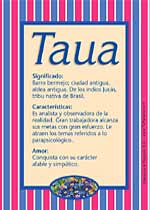 Nombre Taua